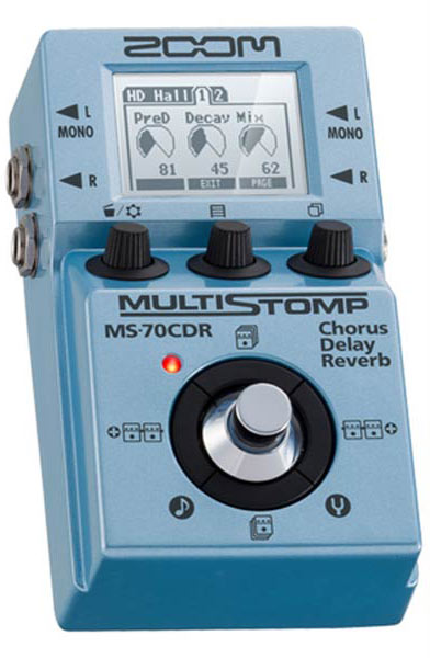 ZOOM 《ズーム》 MULTI STOMP MS-70CDR 【ef_p5】