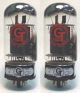 【真空管/パワーチューブ】GrooveTubes GT-6550C 【2本セット】