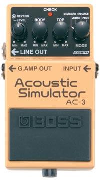 BOSS 《ボス》 AC-3 (Acoustic Simulator)【期間限定★送料無料】【ef_p5】