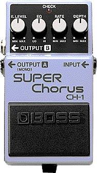 BOSS 《ボス》 CH-1[SUPER Chorus]【期間限定★送料無料】 【ef_p5】【IKEBE×BOSSオリジナルデザインピックケースプレゼント】