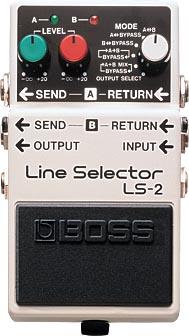 BOSS 《ボス》 LS-2 (Line Selector)【期間限定★送料無料】】【IKEBE×BOSSオリジナルデザイン缶クージープレゼント】【ef_p5】