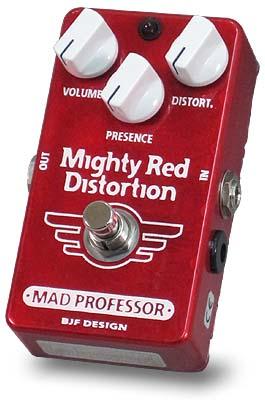 MAD PROFESSOR 《マッド・プロフェッサー》 Mighty Red Distortion