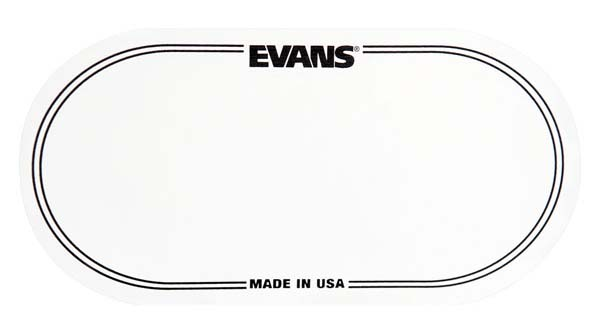 EVANS《エバンス》 EQPC2 [Bass Drum EQ Patch -Clear Nylon Double Pedal]