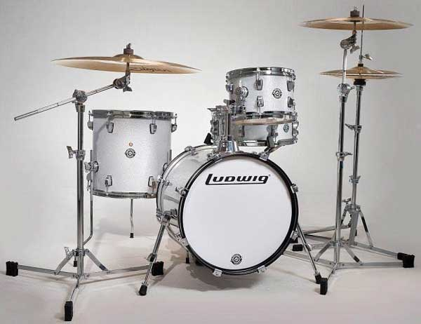 "Ludwig 《ラディック》 LC179X028 [BREAKBEATS OUT FIT / AHIMIR ""?UESTLOVE"" THOMPSON Collaboration (White Sparkle)]"