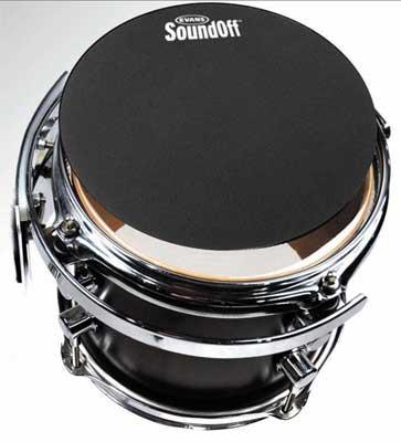 """""""サウンド・オフ""""ドラムミュート  EVANS《エバンス》 SO-12 [""""Sound-Off"""" Drum Mutes 12 inch]"""