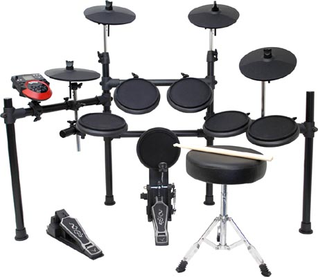 MEDELI 《メデリ》 DD-512J [Full Kit] 電子ドラムセット 【ヘッドフォン&教則DVDサービス!】