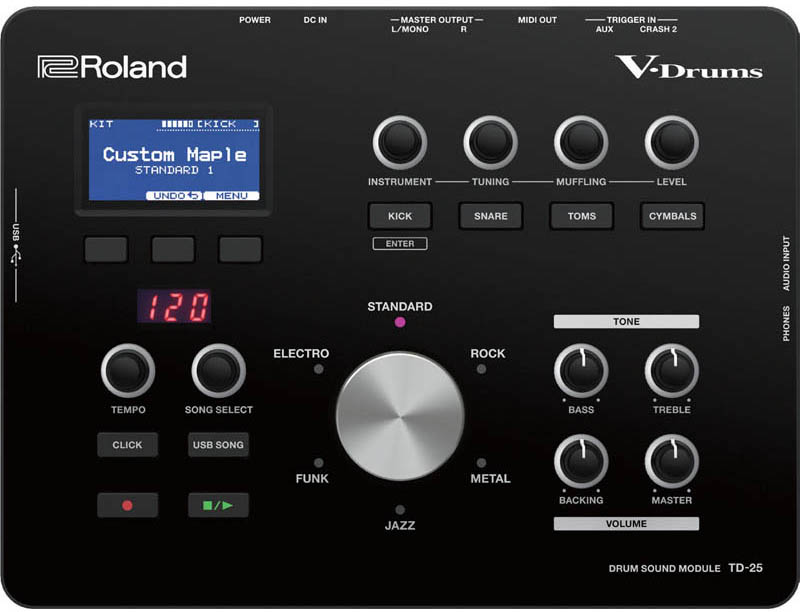 Roland 《ローランド》 TD-25 [Drum Sound Module]【d_p5】※お取り寄せ品
