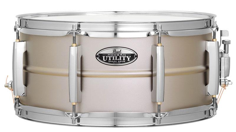 Pearl 《パール》 MUS1465S MUS1465S [Modern Drum Pearl Utility METAL/Steel Snare Drum 14