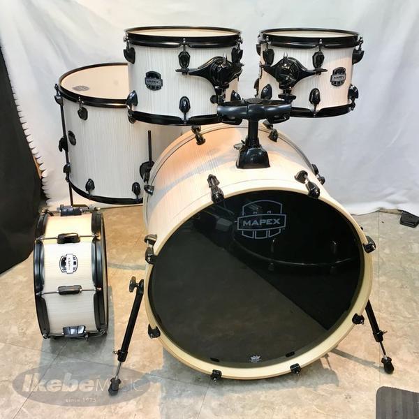 MAPEX MA529SF-BAW 【-MARS Series- 529 Rock Shell Pack / 5pc Drum Kit】