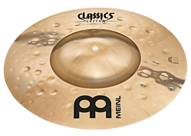 MEINL 《マイネル》 CC18EMBBR-B [Classics Custom Extreme Metal Big Bell Ride 18