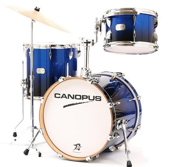 CANOPUS《カノウプス》 刃II (YAIBA II) Bop 3 Piece Kit 【Cobalt Blue SP Fade】【台数限定カラー!スネアドラム別】