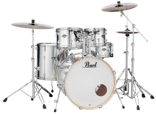 Pearl 《パール》 EXX725S/C #49 [EXPORT Series:ミラークローム]【バスドラム・マフラー(ミュート)付属】【教則DVD:サービス!】【日本国内未入荷カラー!】【8月下旬入荷予定】