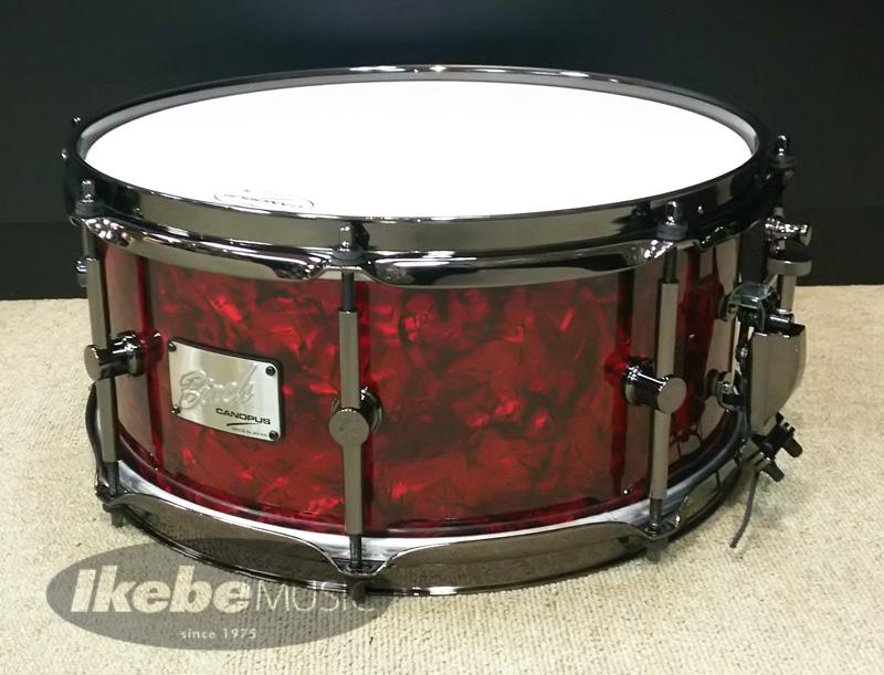 CANOPUS 《カノウプス》 BR-1360 [Red Pearl Covering] 【カスタムオーダーサイズ / ブラックパーツ仕様】