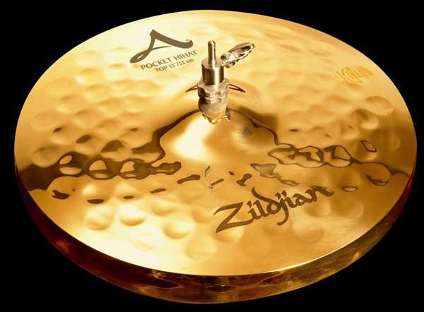 """Zildjian/A.Zildjian 《ジルジャン》 Pocket HiHat 13""""pr [NAZL13PKHHT&HHBM]"""