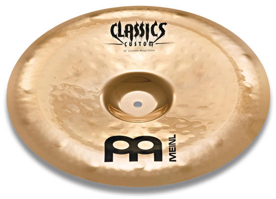 MEINL 《マイネル》 CC18EMCH-B [Classics Custom Extreme Metal China]※お取り寄せ品