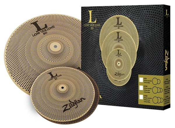Zildjian/L80 Low Low Volume set 《ジルジャン》 Crash L80 LOW VOLUME 38 BOX SET [13