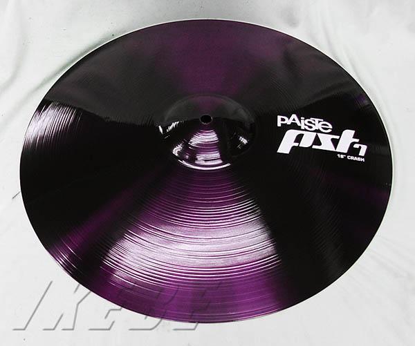 """PAiSTE/PST-7 《パイステ》 Crash 18"""" [Metallic color Edition -The Purple -] 【ドラステ特注品 / 数量限定ステッカープレゼント】"""
