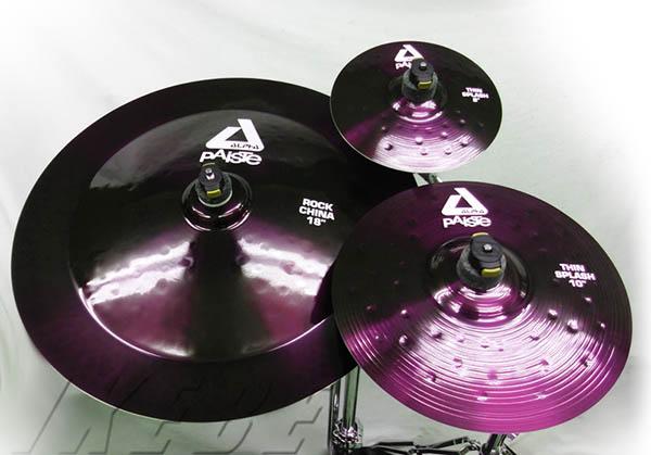 PAiSTe/ALPHA Brilliant 《パイステ》 ALPHA Brilliant Original Effect Set [ SP8,10 / CH18 ][Metallic color Edition -The Purple -] 【ドラステ特注品 / 数量限定ステッカー】