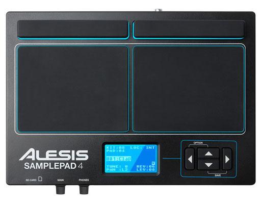 ALESIS《アレシス》 SamplePad 4 [AL-EDR-058 / 4-Pad Professional Drumpad]