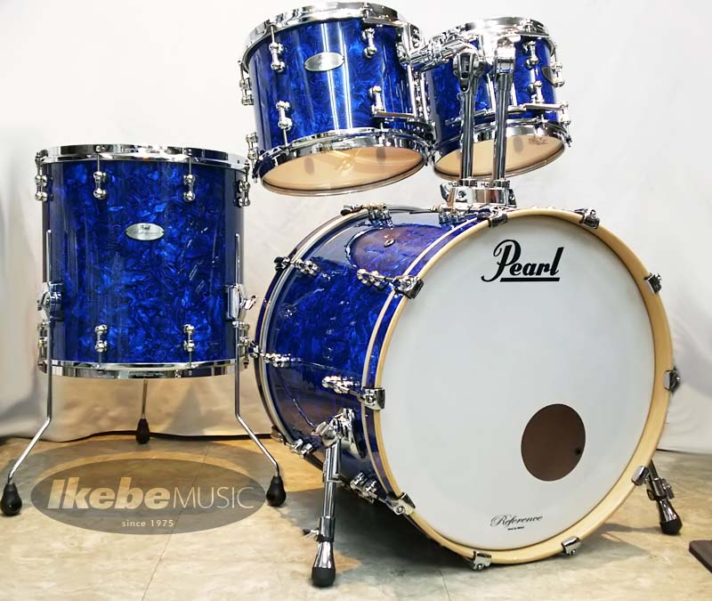 "Pearl 《パール》 ""Reference Pure"" 4pc Drum Set #418:Blue Abalone Covering [タムホルダー付属] 【限定フィニッシュ】"