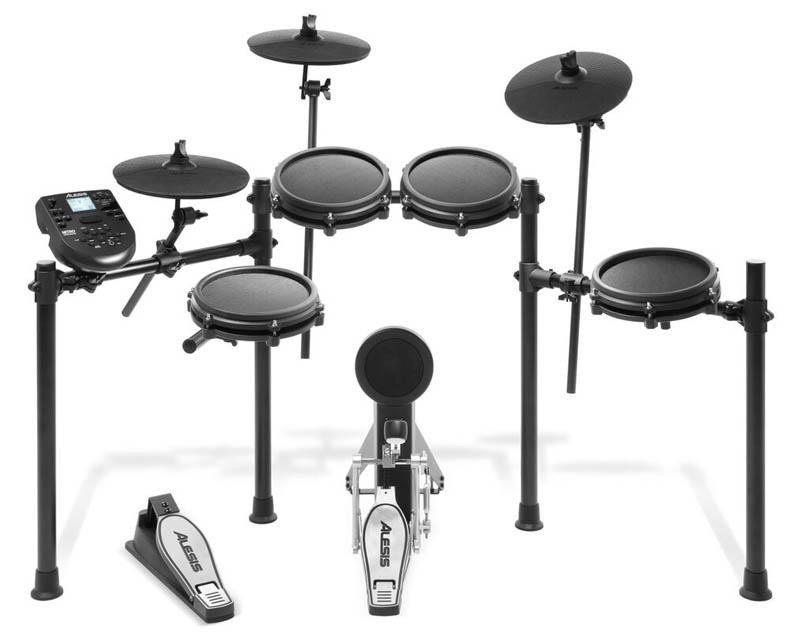ALESIS 《アレシス》 Nitro Mesh Kit [8ピース・オールメッシュ電子ドラムキット]【台数限定!:ドラムスローン&ヘッドフォン&教則DVDプレゼント!】【d_p5】