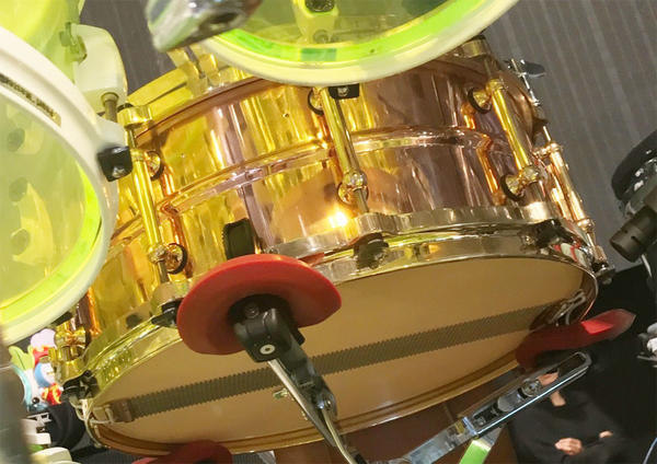 Pearl《パール》 STA1455CO/SY w/D-Flavor Customize [SensiTone Copper Snare Drum supervised by 真矢]【2018年秋発売予定】