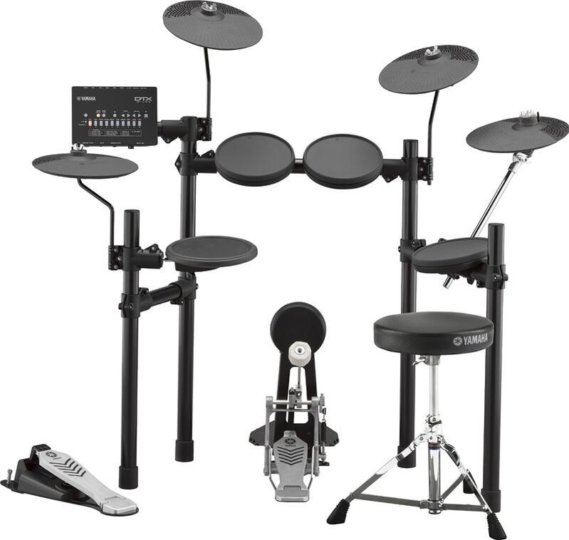 YAMAHA DTX452KUPGS [DTX402 Series 3 Cymbals Set / フットペダル&ドラムスツール付属]【d_p5】