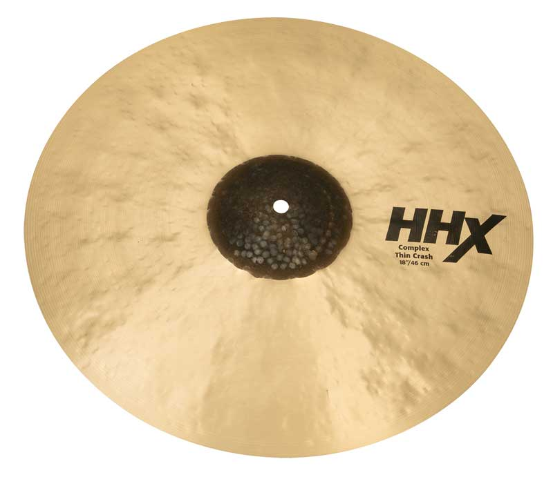 Sabian《セイビアン》  HHX-18CTC [HHX Complex Thin Crash 18