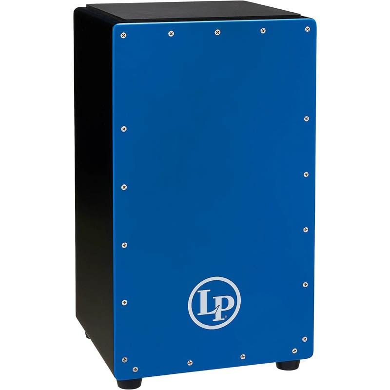 カホン LP オリジナル 入荷予定 《Latin Percussion》 LP1425-SB Cajon Prism 数量限定:ソフトケースサービス Blue