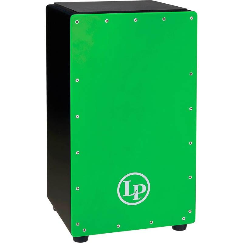 カホン LP 《Latin Percussion》 LP1425-LG 新登場 数量限定:ソフトケースサービス Green セール価格 Prism Cajon