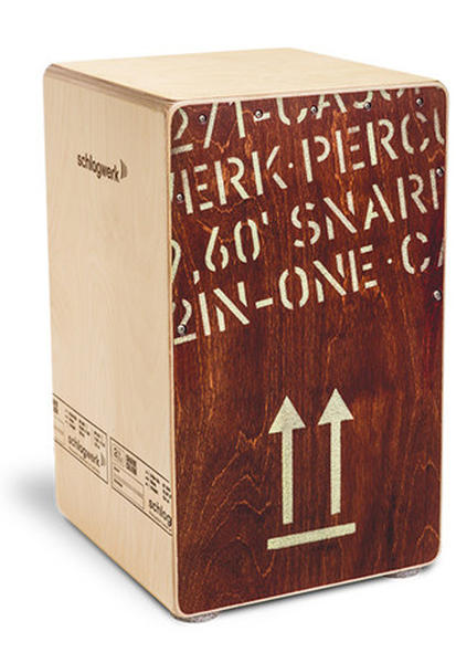 Schlagwerk Percussion 《シュラグベルク》SR-CP404RED [2 in One Cajon~RED/リュックサック・ソフトケース付]【お取り寄せ商品】