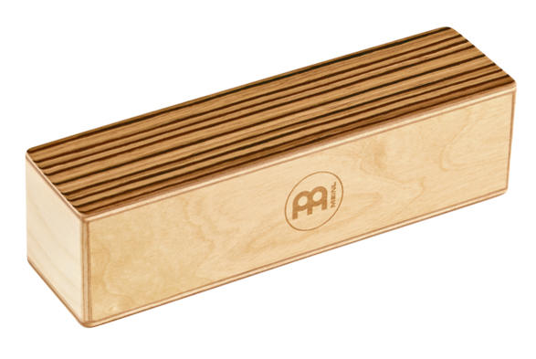 MEINL シェイカー 《マイネル》SH53-M Wood 初回限定 Medium Exotic Shakers 信頼 Zebrano