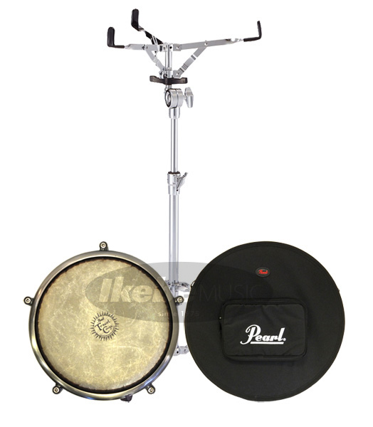 Pearl 《パール》Travel Pearl Set Conga Case Light & Light Stand Set [PTC-1100/PSC-1175TC/S-710], DANJO バッグ 財布 シューズの通販:909e3457 --- officewill.xsrv.jp