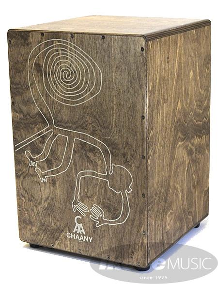 CHAANY 《チャーニー》CHW30-D-DM [Nazca Series:ボディ Dark Oil Finish / 打面 Dark Oil Finish/デザイン:さる]【お取り寄せ品】