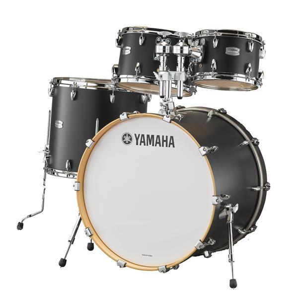 YAMAHA 《ヤマハ》 TMP0F4LCS [Tour Custom / All Maple Shell Drum Kit / BD20, FT14, TT12&10, ダブルタムホルダー付属/ リコライスサテン]【お取り寄せ商品】