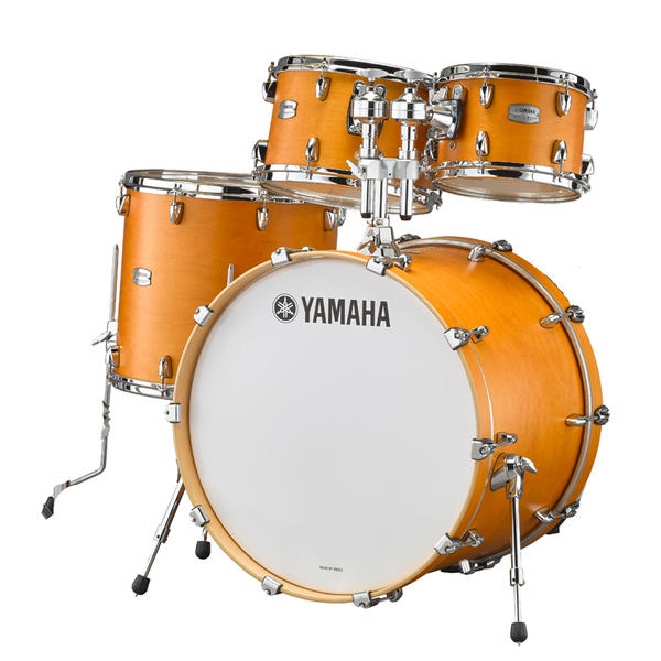 YAMAHA 《ヤマハ》 TMP2F4CRS [Tour Custom / All Maple Shell Drum Kit / BD22, FT16, TT12&10, ダブルタムホルダー付属/ キャラメルサテン]【お取り寄せ商品】