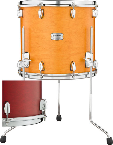 YAMAHA 《ヤマハ》 TMF1413CAS [Tour Custom / All Maple Shell Floor Tom 14