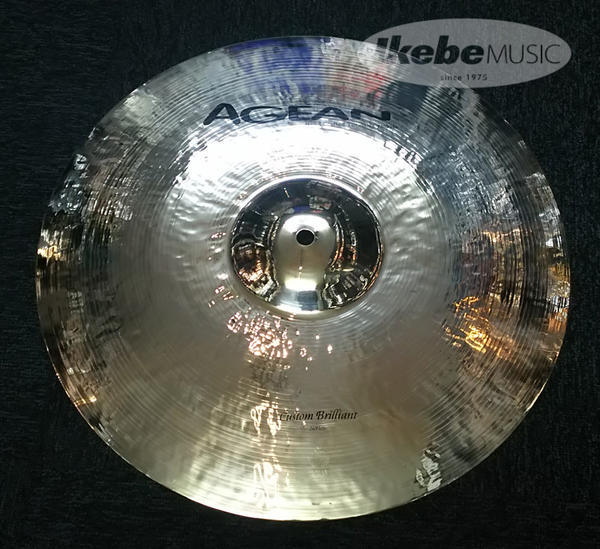 "AGEAN 《エイジーン》 Custom Brilliant 16"" Crash Medium"
