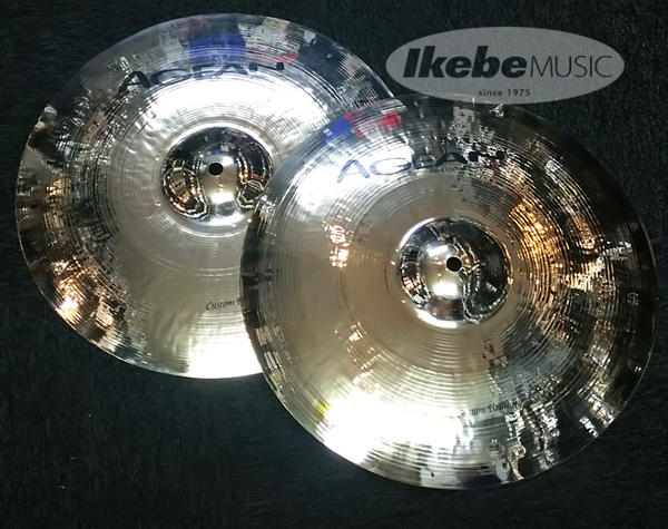 "AGEAN 《エイジーン》 Custom Brilliant 14"" Hihat pr"