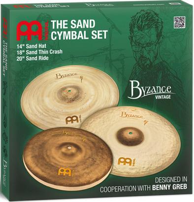 MEINL 《マイネル》 BV-141820SA [Byzance Vintage / Sand Cymbal Set] 【14