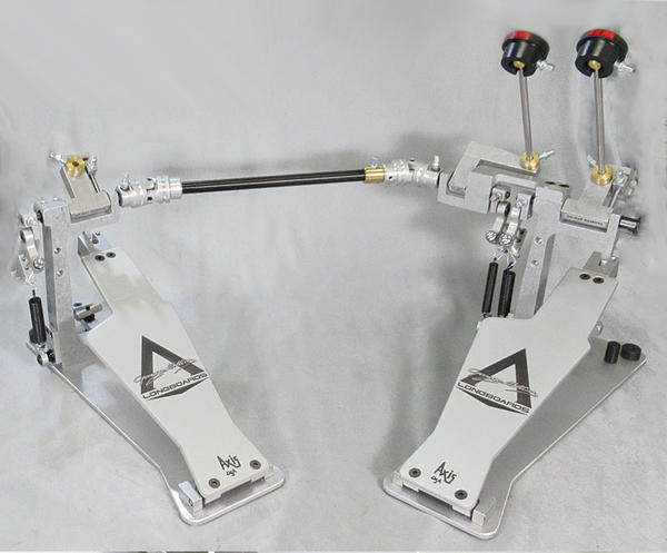 AXIS PERCUSSION George Kollias Signature Edition Double Pedal with MicroTune Spring Tensioner [GK2 without EKIT]