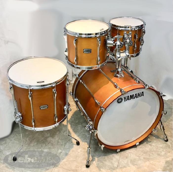 YAMAHA 《ヤマハ》RBB2218RW + RBF1615RW + RBT1210RW + RBT1009RW カラー:リアルウッド(RW) [Recording Custom 4pc Drum Set] 【タムホルダー(TH945B)サービス / 店頭展示チョイキズ特価品】