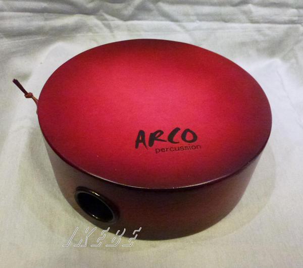 ARCO 《アルコ》UK8-R [ウクレレカホン・ピックアップ付/カラー:RED] お取り寄せ品(納期20~30日)