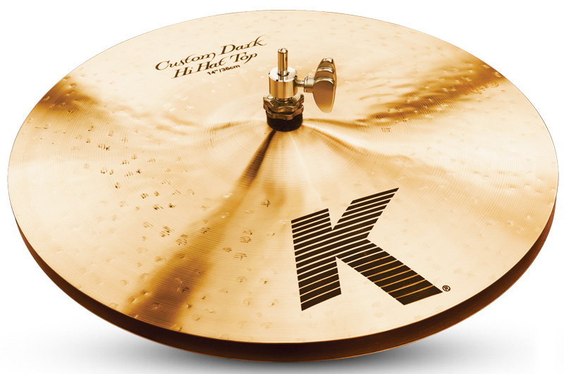 Zildjian/K.Custom 《ジルジャン》 Dark Hi Hat 14pr【2枚セット】