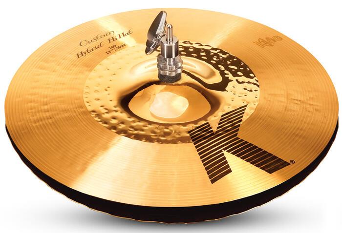 Zildjian/K.Custom 《ジルジャン》 Hybrid Hi Hat 13 1/4 pr【2枚セット】