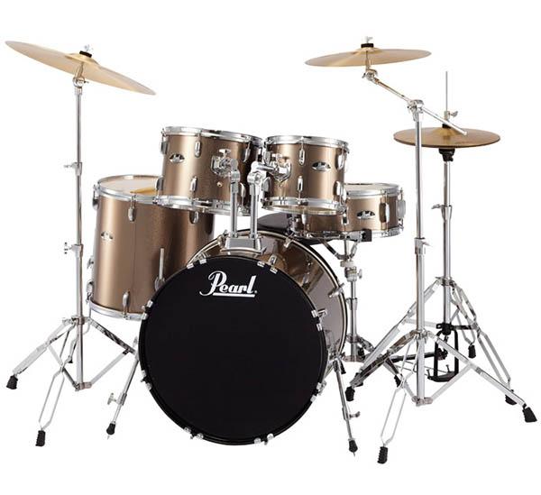 Pearl 《パール》 RS525SCW/C #707:BRONZE METALLIC [ROADSHOW Drum Set] 【教則DVD&ホールカット・リング・プレゼント!】 【お取り寄せ品】
