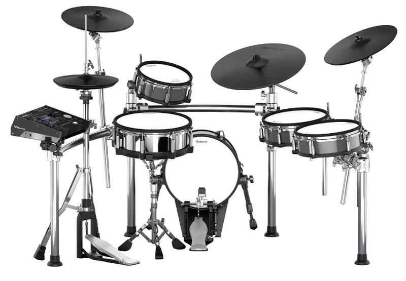 Roland 《ローランド》 TD-50KV [V-Drums Kit] with KD-140-BC [V-Kick] & MDS-50KV [Drum Stand]【d_p5】