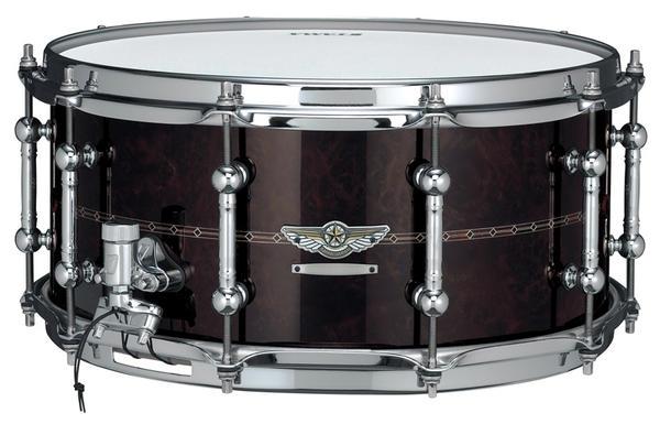 "TAMA《タマ》 ""STAR Reserve Snare Drum #3"" TBWS1465S [WALNUT/BUBINGA]"