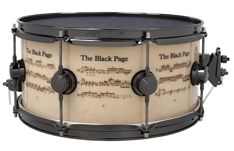 dw DW-ICON BLACKPAGE [Icon Snare Drums / Terry Bozzio] 【全世界限定:250台】