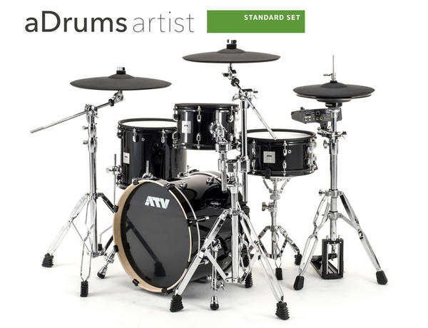 ATV aDrums artist STANDARD SET [ADA-STDSET] 【aD5(音源)を含むセットアップ】【お取り寄せ品】